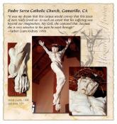 Padre Serra Crucifix
