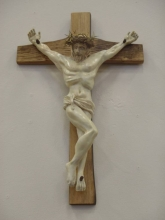 Crucifix, Padre Serra maquette