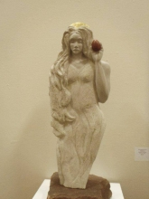 Magdalena with Red Egg