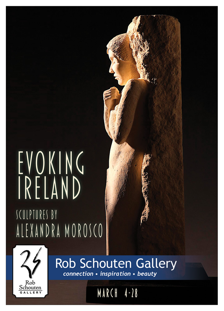 Evoking Ireland postcard-front